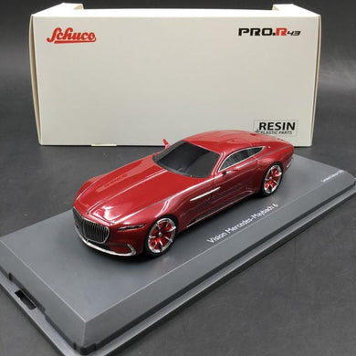 Schuco 1:43 Mercedes-Maybach Vision 6 Coupe red 450897800