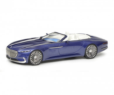 Schuco 1/43 Mercedes-Maybach Vision 6 Convertible blue 450900200