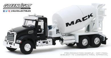 GreenLight 1:64 S.D. Trucks Series 9 - 2019 Mack Granite Concrete Mixer - Mack Fleet Management Services Show Truck 45090-B