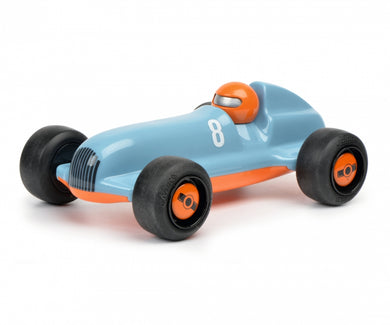 Schuco Studio Racer Blue-Pierre #8 racing blue orange 450987200