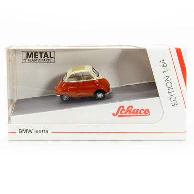 Schuco 1/64 BMW Isetta beige/orange 452016500