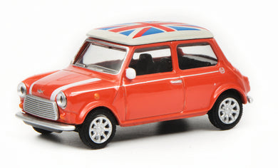 Schuco 1/64 Mini Cooper Union Jack red 452016700