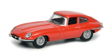 Schuco 1:64 Jaguar E-Type Coupe red 452017500