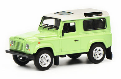 Schuco 1/64 Land Rover Defender green white 452018100