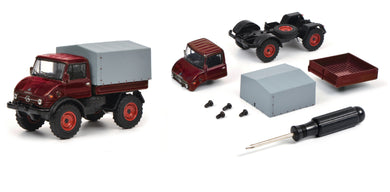 Schuco 1:64 Edition Kit Mercedes-Benz Unimog U406 red 452019800