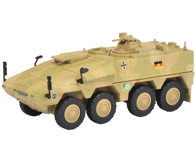 Schuco 1/87 Boxer infantry transport vehicle ISAF camouflaged 452624000