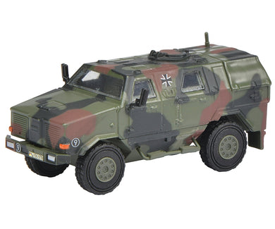 Schuco 1/87 Dingo I all protection vehicle Bundeswehr camouflaged 452624300