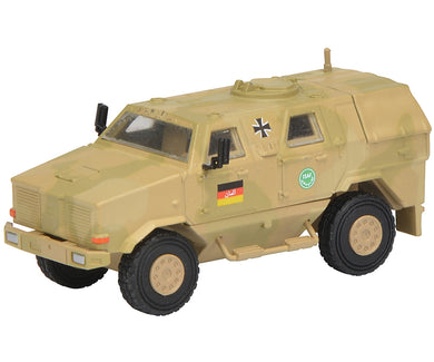 Schuco 1/87 Dingo I all protection vehicle ISAF camouflaged 452624400