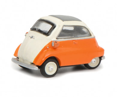 Schuco 1/87 BMW Isetta beige orange 452632300