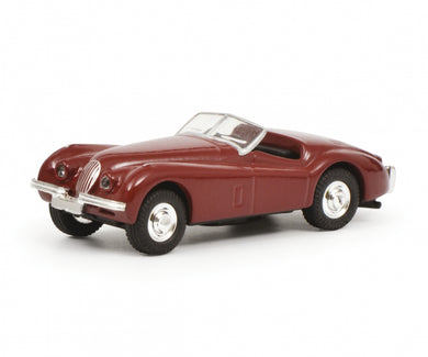 Schuco 1/87 Jaguar XK 120 red 452632600