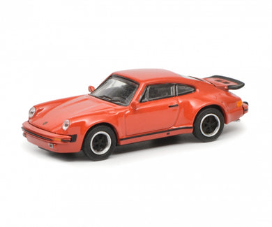 Schuco 1/87 Porsche 911 Turbo (930) red 452633000