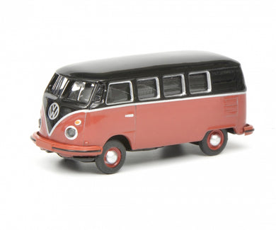 Schuco 1/87 Volkswagen T1c bus black red 452633700