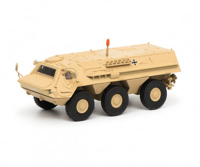 Schuco 1/87 Fuchs infantry transport vehicle ISAF 452635700