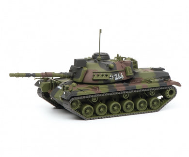 Schuco 1/87 M48G infantry combat vehicle Bundeswehr camouflaged tank 452635900