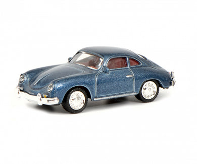 Schuco 1/87 Porsche 356 Coupe blue 452637700