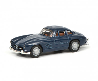 Schuco 1/87 Mercedes-Benz 300 SL blue 452637800
