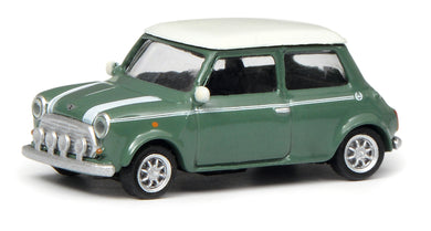Schuco 1:87 Mini Cooper green white 452639200