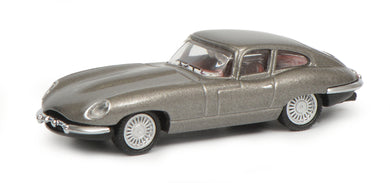 Schuco 1:87 Jaguar E-Type Coupe grey 452639800