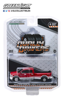 GreenLight 1:64 Dually Drivers Series 2 - 2018 Dodge Ram 3500 Dually - Harvest Edition 46020-D