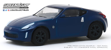 GreenLight 1:64 Tokyo Torque Series 8 - 2020 Nissan 370Z Coupe - Deep Blue Pearl 47060-E