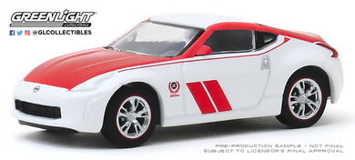 GreenLight 1:64 Tokyo Torque Series 8 - 2020 Nissan 370Z Coupe 50th Anniversary - White and Red 47060-F