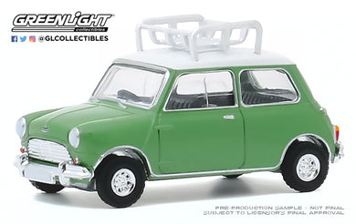 GreenLight 1:64 Hot Hatches Series 1 - 1965 Austin Mini Cooper S with Roof Rack 47080-A