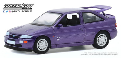 GreenLight 1:64 Hot Hatches Series 1 - 1994 Ford Escort RS Cosworth Monte Carlo Special Edition - Jewel Violet 47080-D