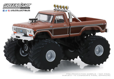 GreenLight 1:64 Kings of Crunch Series 5 - BFT - 1978 Ford F-350 Monster Truck 49050-A