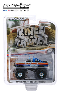 GreenLight 1:64 Kings of Crunch Series 6 - Rocket - 1972 Chevrolet K-10 Monster Truck 49060-A
