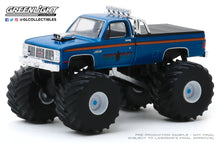 GreenLight 1:64 Kings of Crunch Series 6 - Bear Foot - 1985 GMC High Sierra 2500 Monster Truck 49060-C