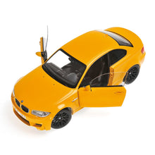MINICHAMPS 1/18 BMW 1er M COUPÉ 2011 YELLOW 110020026