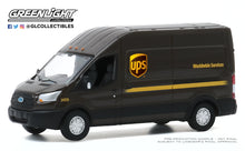 GreenLight 1:64 Route Runners Series 1 - 2019 Ford Transit LWB High Roof - United Parcel Service (UPS) Worldwide Services 53010-E