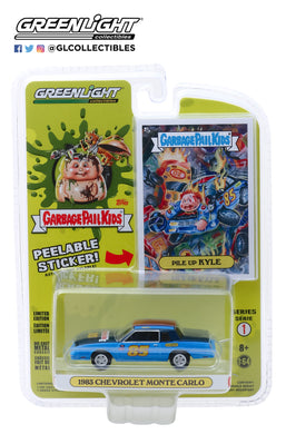 GreenLight 1/64 Garbage Pail Kids Series 1 - Pile Up Kyle - 1983 Chevrolet Monte Carlo 54010-B