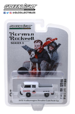 GreenLight 1:64 Norman Rockwell Series 2 - 1972 Volkswagen Type 2 Double Cab Pickup 54020-E