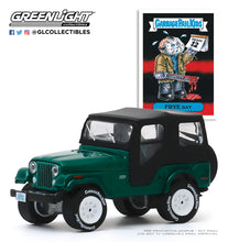 GreenLight 1:64 Garbage Pail Kids Series 2 - Frye Day - 1970 Jeep CJ-5 54030-D