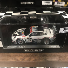 MINICHAMPS 1/43 PORSCHE 911 GT3 R PROSPEED COMPETITION 24H SPA #75 2011 400118975