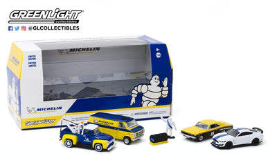 GreenLight 1:64 Multi-Car Dioramas - Michelin Service Center 58049