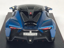 Frontiart SophiArt 1/18 W Motors Fenyr Supersport after Lykan Blue Resin Model Car SA003-11