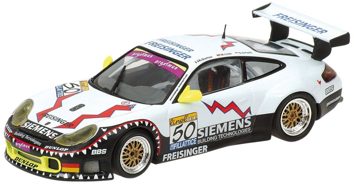 Minichamps 1/43 Porsche 911 GT3 RS Ortelli 24H SPA 2003 #50 400036950
