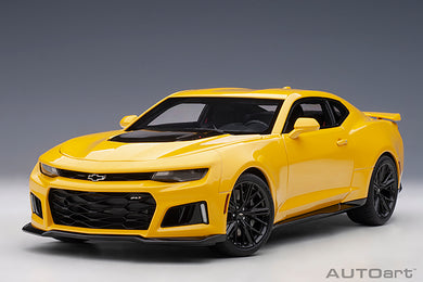 AUTOART 1:18 CHEVROLET CAMARO ZL1 2017 (BRIGHT YELLOW) 71205