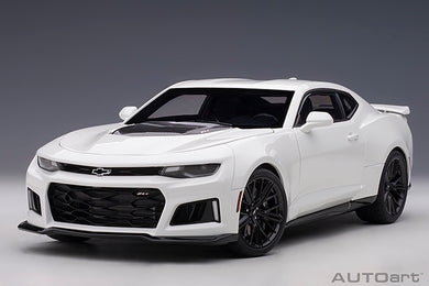 AUTOART 1:18 CHEVROLET CAMARO ZL1 2017 (SUMMIT WHITE) 71206