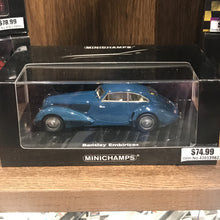 MINICHAMPS 1/43 BENTLEY EMBIRICOS 1938 BLUE 436139821