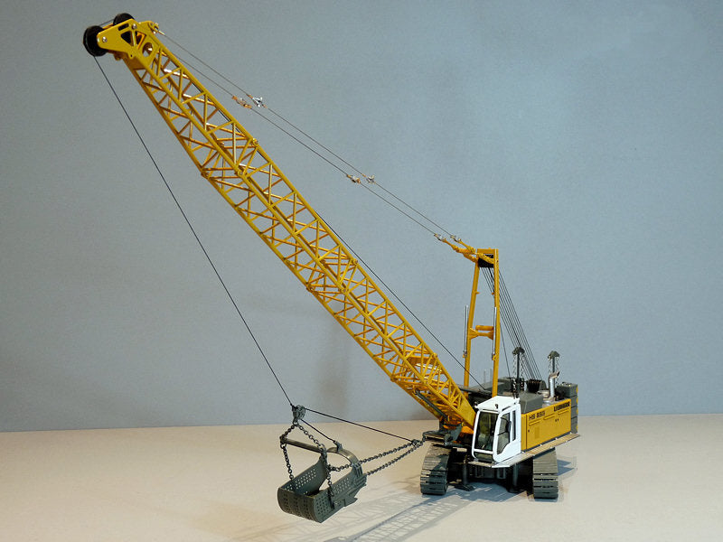 NZG 1/50 LIEBHERR HS855HD Hydro Seilbagger 728  NOTE:Package is Damaged