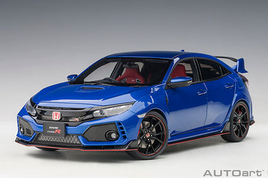 AUTOART 1:18 HONDA CIVIC TYPE R (FK8) (BRILLIANT SPORTY BLUE METALLIC) 73269