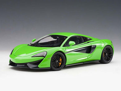 AUTOART 1/18 McLAREN 570S (MANTIS GREEN/BLACK WHEELS) 76042
