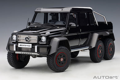 AUTOART 1/18 MERCEDES-BENZ G63 AMG 6x6 (GLOSS BLACK) 76306