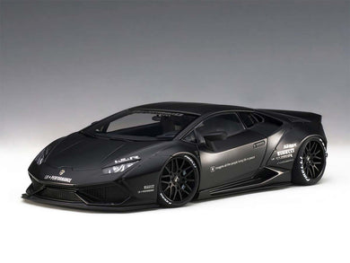 AUTOART 1/18 LIBERTY WALKLB-WORKS LAMBORGHINI HURACAN (MATT BLACK) 79121