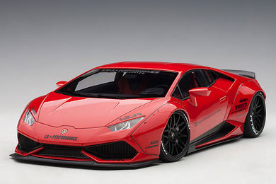 AUTOART 1/18 LIBERTY WALK LB-WORKS LAMBORGHINI HURACAN RED 79123