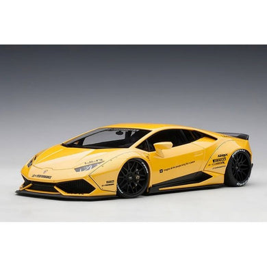 AUTOART 1/18 LIBERTY WALK LB-WORKS LAMBORGHINI HURACAN (METALLIC YELLOW) 79124