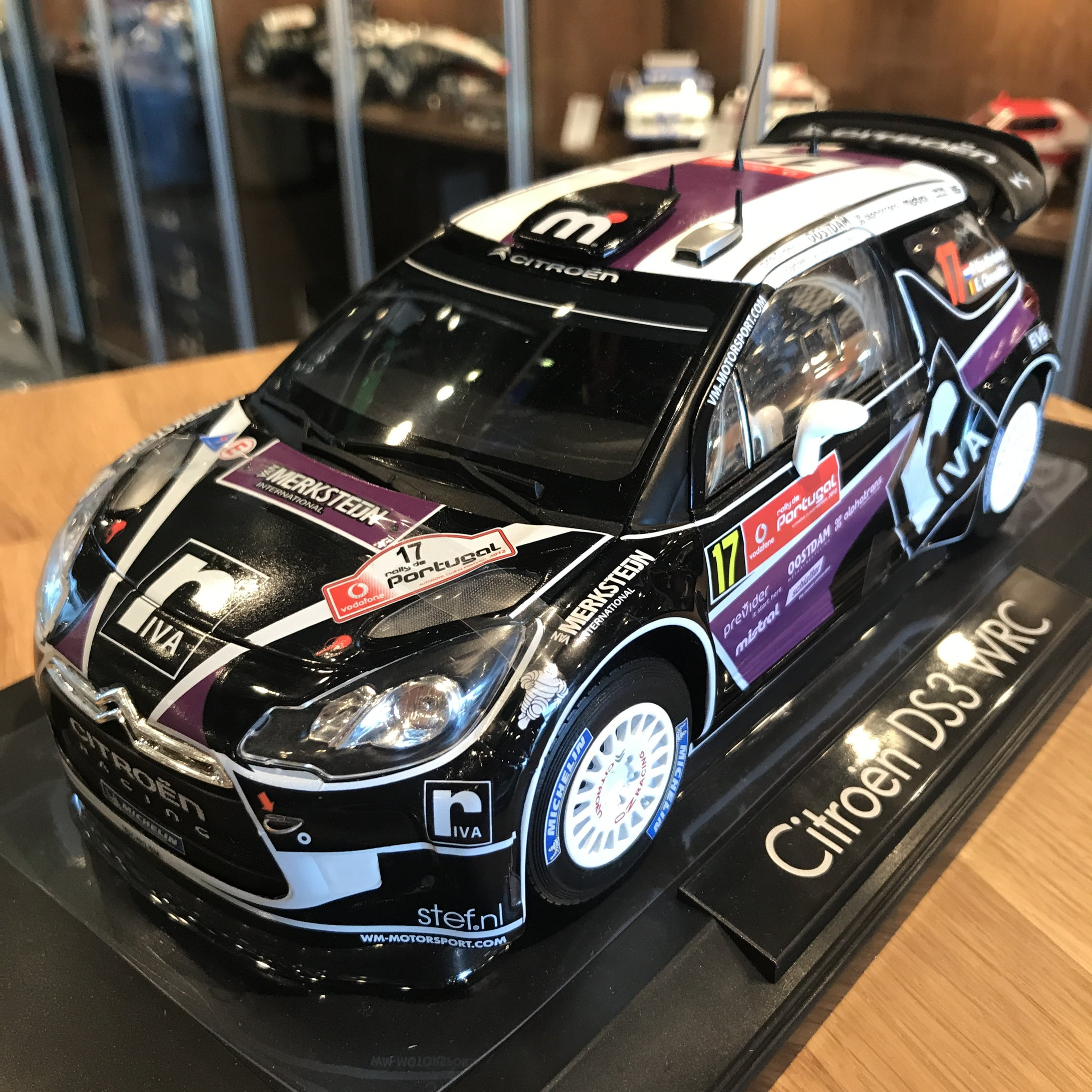 NOREV 1/18 CITROEN DS3 #17 WRC RALLY PORTUGAL 2012 181559